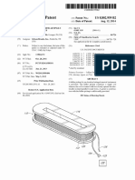 "U.S. Patent 8,802,959, entitled ""Variable resonant bifilar single coil magnetic pickup"", to Mills (Gibson, Inc) Aug. 14, 2014."