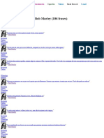 Bob Marley - Frases, Pensamentos e Citações - KD Frases13