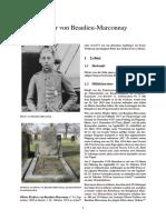 WW1 Asse - Olivier Von Beaulieu-Marconnay