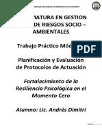 Proyecto de Resiliencia Psicologica Goya Dimitri Unsam
