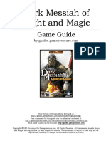 Dark messiah of Might and Magic game GUIDE