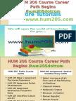 HUM 205 Course Career Path Begins Hum205dotcom