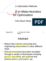 4. a Tutorial on Meta-Heuristics for Optimization