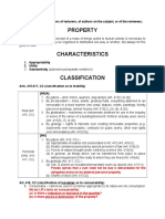 Civil Law (Property)