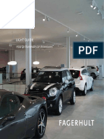 Fagerhult Lighting Guide Car Showrooms