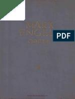 Marx - Engels Opere vl. 3