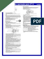 Manual Casio Edifice EF 545