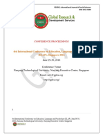 Singapore Elap Proceedings
