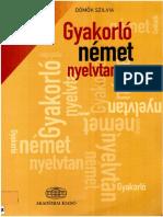 Dömők Szilvia - Gyakorló Német Nyelvtan