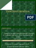 Endotoxin Removal