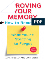 Janet Fogler and Lynn Stern-Improving Your Memory _ How to Remember What You'Re Starting to Forget-Johns Hopkins University Press (2014)