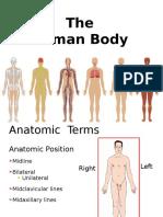Human Body Jan 24 for emts
