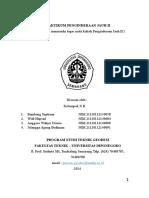 Laporan Praktikum Pj 2