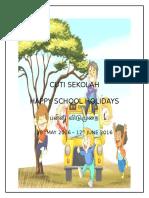 Cuti Sekolah Pertengahan Tahun 2016