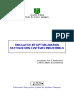 Simulation Et Optimisation Des Systèmes Industriels