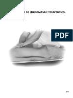 Curso Básico de Quiromasaje Terapéutico (2015).