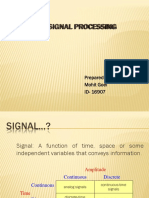 Digital Signal Processing Lecture-1
