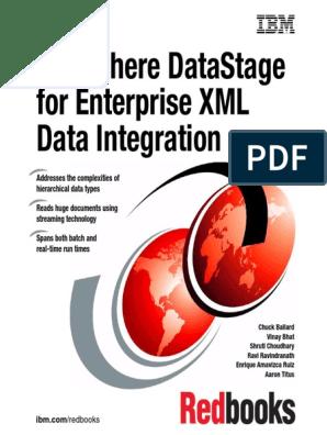 datastage | Xml Schema | Computing