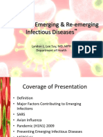 DOH Emerging and Re Emerging Infectious Diseases