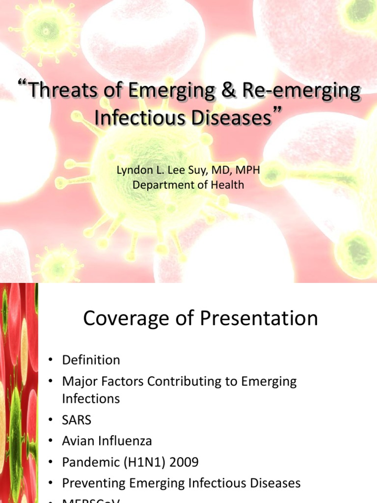 DOH Emerging and Re Emerging Infectious Diseases | Influenza