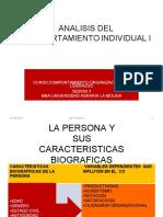 (279997813) ANALISIS DEL COMPORTAMIENTO INDIVIDUAL I-ACTUALIZADO FEBRERO 2014.ppt