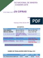 Minería en Cifras 2016