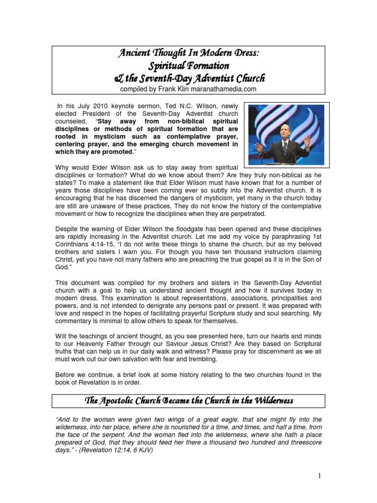contemplating spiritual formation in the adventist church pdf rh scribd com