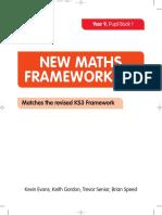 New Maths Frameworking Year 9 Pupil Book 1 332a6