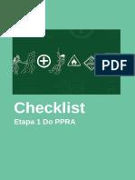 Checklist Ppra Etapa 1