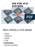 Design for Vlsi Systems