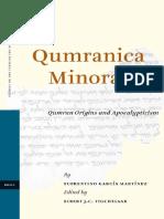 García Martínez, F. Qumranica Minora I, Qumran Origins and Apocalypticism