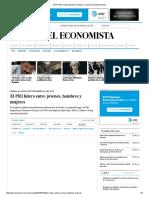 El PRI Lidera Entre Jóvenes, Hombres y Mujeres _ El Economista