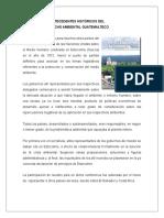 Antecedentes Históricos Del Derecho Ambiental en Guatemala