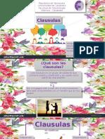 Clausulas y Actividades)=)=