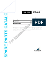 Spare Parts Catalogue ZAV40S Int Use