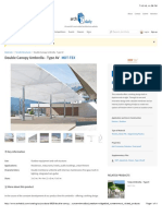 Double Canopy Umbrella - Type AV From MDT-TEX | ArchDaily