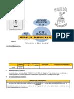 UNIDAD DE APRENDIZAJE N° 05  2° GRADO ED. PRIMARIA JULIO 2016