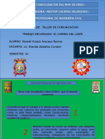 Camino Del Lider-taller de Comunicacion
