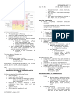 Derma Notes 1 June 15