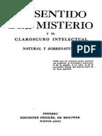 102738213 El Sentido Del Misterio Garrigou Lagrange