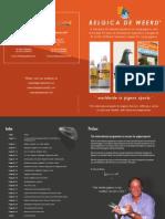 Brosura Belgica de Weerd 2010