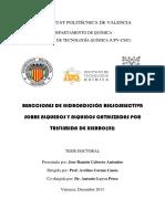 Cabrero - REACCIONES DE HIDROADICIÓN REGIOSELECTIVA SOBRE ALQUENOS Y ALQUINOS CATALIZADAS POR TRI....pdf