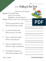 Adverbs Worksheet 3