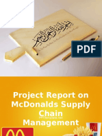 Macdonald's pakistan supply chain