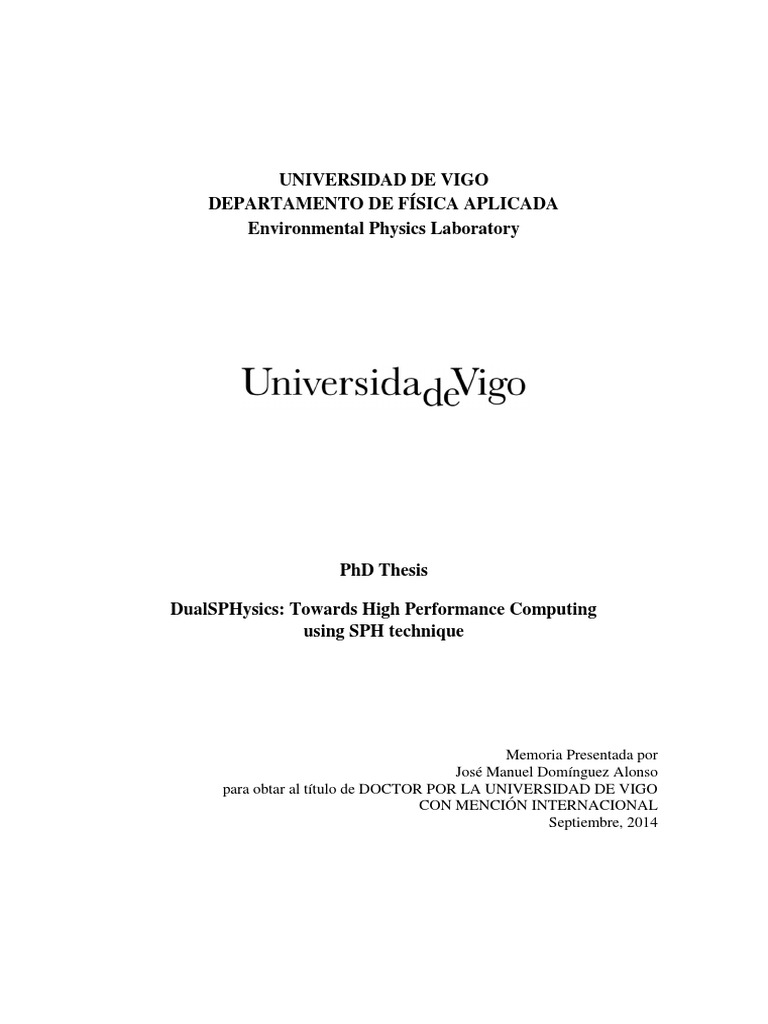 Phd thesis parallel computing