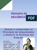 Principio Arquímedes