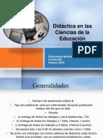 Didáctica Profunda 2015 Presentacion