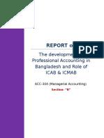 Report on Icab & Icmab(Raj)