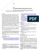 E2700 09 Standard Practice for Contact Ultrasonic Testing of Welds Using Phased Arrays