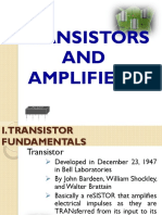 Transistors and Amplifiers